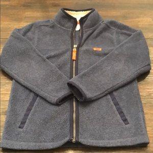 Carter's size 7 boys fleece zip up jacket